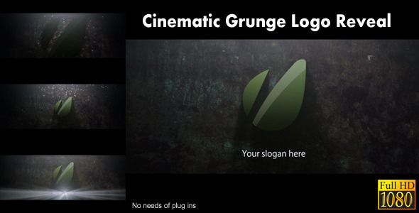 VideoHive Cinematic Grunge Logo Reveal 1820302