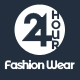 24 Hour Fashion Wear eCommerce PSD Template