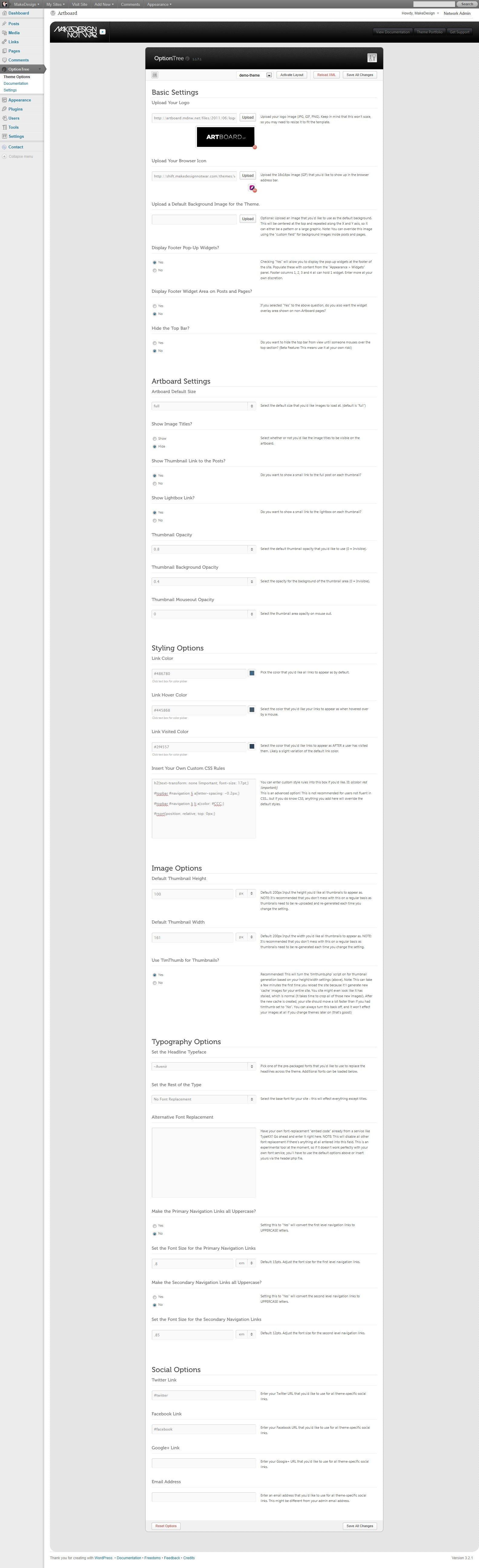 Artboard | FullScreen Portfolio + Blog