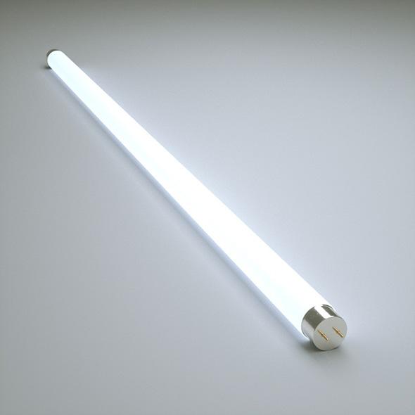 Fluorescent Lamp - 3DOcean Item for Sale