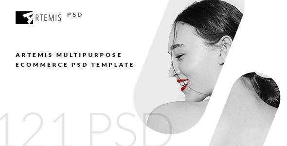 ARTEMIS - Multipurpose eCommerce PSD Template