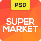 Supermarket - PSD Templates