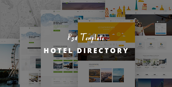 Hotel Directory - Html responsive Template