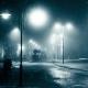 Snowfall In Night City