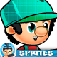 2D Game Character Sprites 266