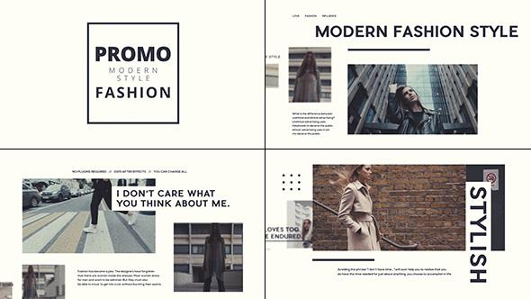Stylish Fashion Promo (Commercials)