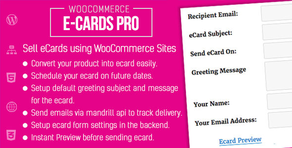 Download WooCommerce Ecards Pro nulled download