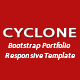 Cyclone-Bootstrap Portfolio Responsive Template
