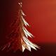 Polygonal Christmas Tree Rotating