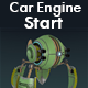 Car Engine Starting