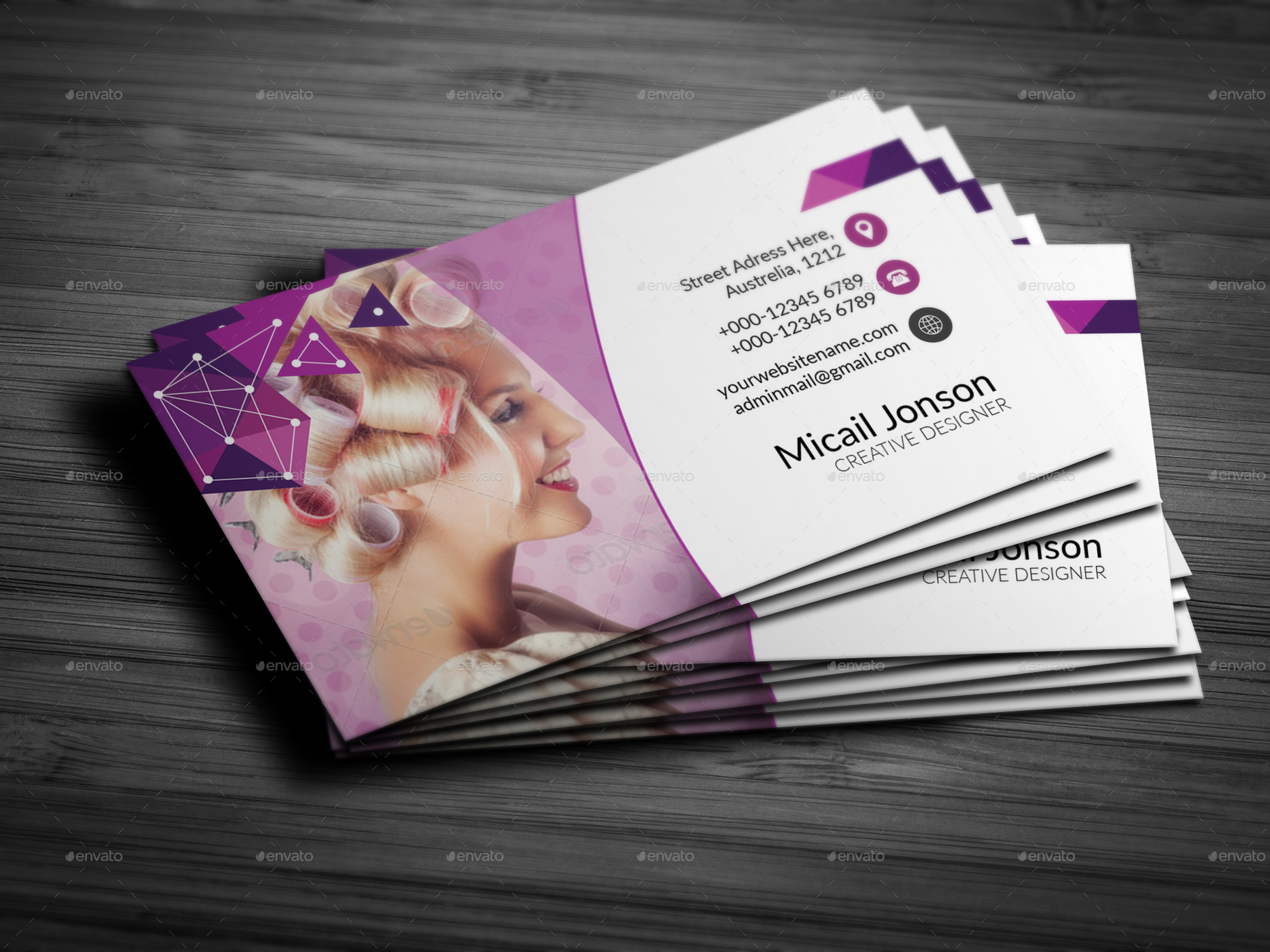 Beauty Spa Business Card By Jaguars Paw Graphicriver