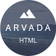 Arvada — Creative Coming Soon & Maintenance Mode Template