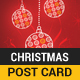 Christmas Post Card (Images included)