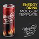 Energy Drink v2 Mock-up Template