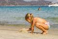 Little Girl Vacation Sea