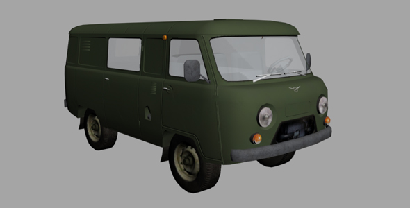 Uaz 452 - 3DOcean Item for Sale