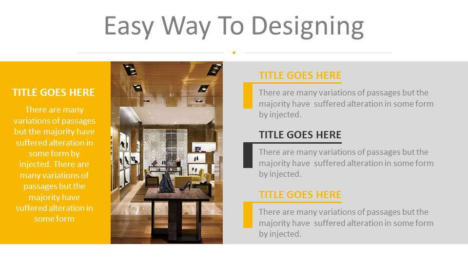 Architecture and interior design powerpoint presentation for Interior design visual presentation