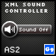 XML Sound Controller AS2 - ActiveDen Item for Sale