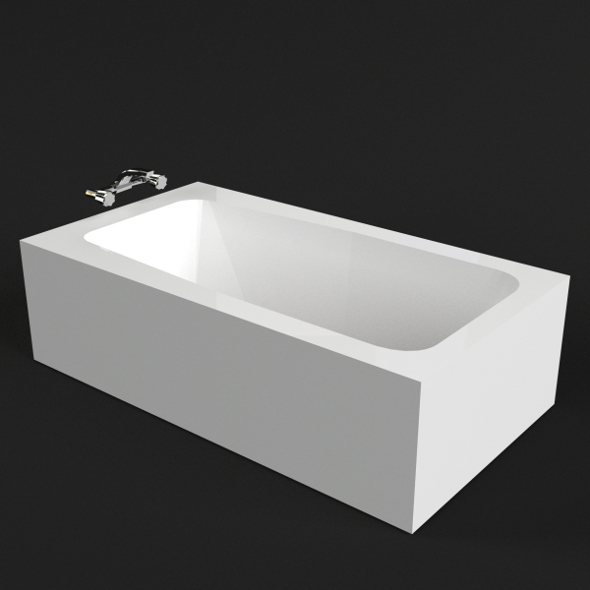 Bathtub 1 - 3DOcean Item for Sale