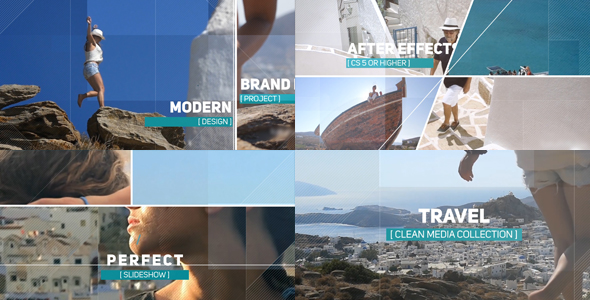 VideoHive Travel Media Collection 18505893