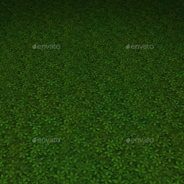 ground grass tile 5 - 3DOcean Item for Sale