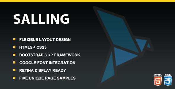 Salling - Responsive Multipurpose HTML5 Template