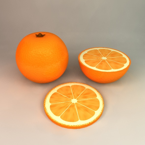 3DOcean Orange 1823738