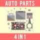 Auto Spare Parts Concept Set