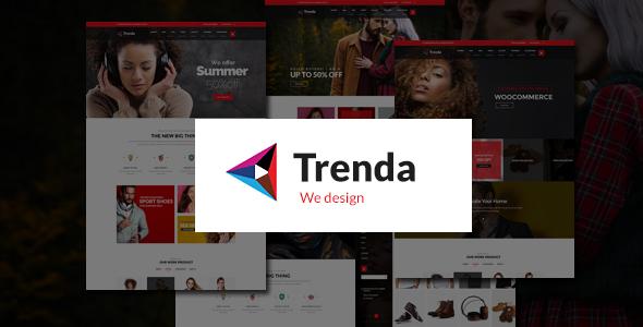Trenda - Multi Concept eCommerce HTML Template