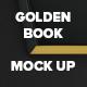 Golden Book Mock Up