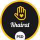 Khairat – Landing Page PSD Charity Template