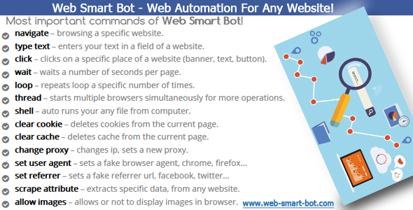 Web Smart Bot - Web Automation For Any Website - CodeCanyon Item for Sale