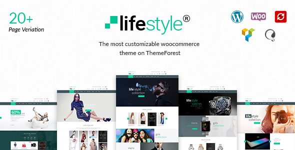 LifeStyle - WooCommerce Multi-Purpose WordPress Theme