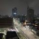 Of Road Traffic In Seoul At Night, South Korea