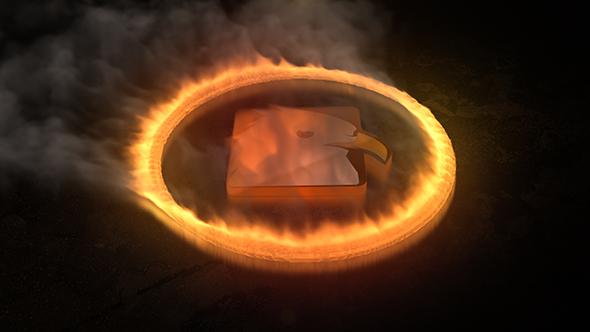 VideoHive Fire Logo Reveal 18514115