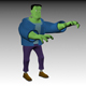 Funny Frankenstein Model