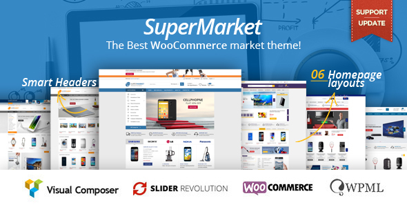 Download SuperMarket - Multipurpose WooCommerce WordPress Theme nulled download