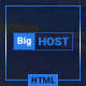 BigHost - Web Hosting Domain Technology HTML Template