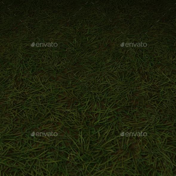 ground grass tile 13 - 3DOcean Item for Sale