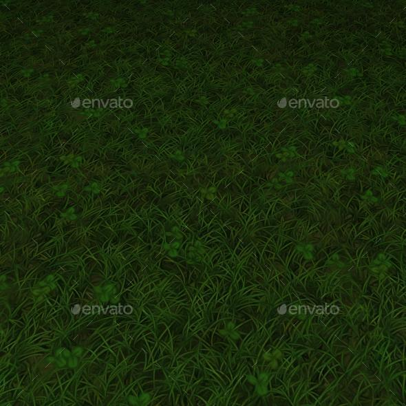 ground grass tile 14 - 3DOcean Item for Sale