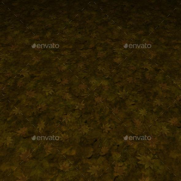ground grass tile 19 - 3DOcean Item for Sale