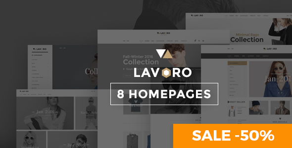Lavoro - Fashion Shop WooCommerce Theme
