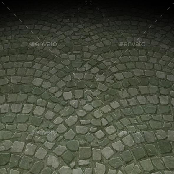 ground stone tile 2 - 3DOcean Item for Sale