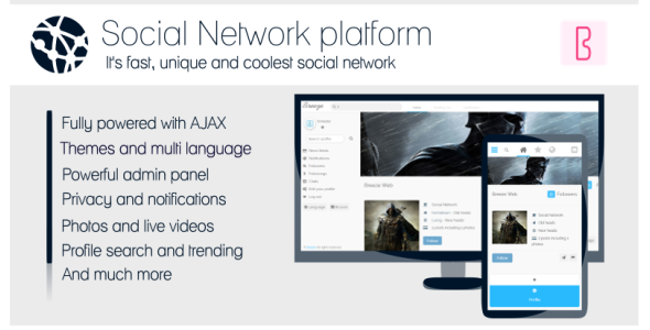 Breeze Social Network (Social Networking)