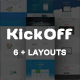 KickOff - Responsive Starup Landing Pages