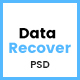 Data Recover - Data Recovery Service Website PSD Template