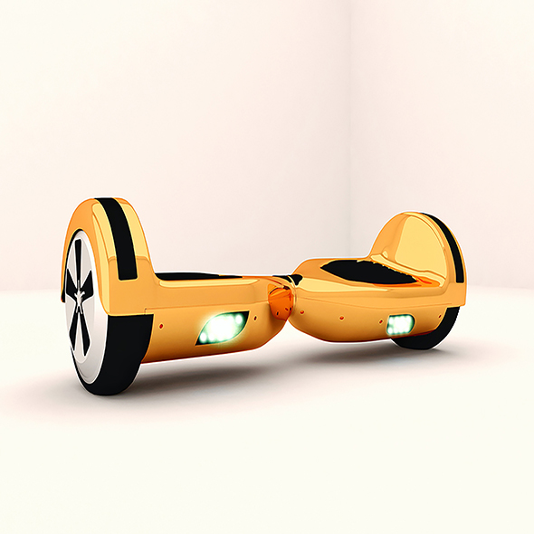 electric scooter - 3DOcean Item for Sale