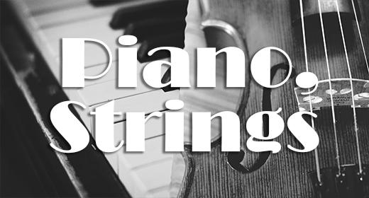 Piano, Strings