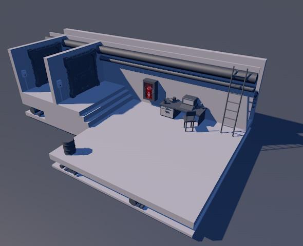 Basement - 3DOcean Item for Sale
