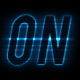 Neon Autosport Alphabet